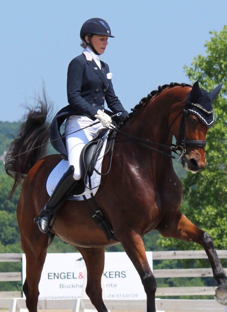 Kim Gentry Horseriding