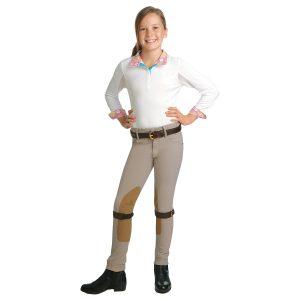 Romfh® Child's International Euro Seat Knee Patch Jod