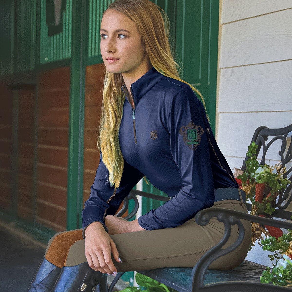468455 Walnut Dark Navy Walnut Shirt 0246