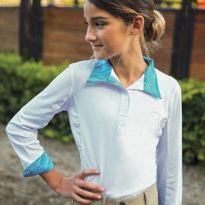 Romfh® Sarah Child's Show Shirt- Long Sleeve