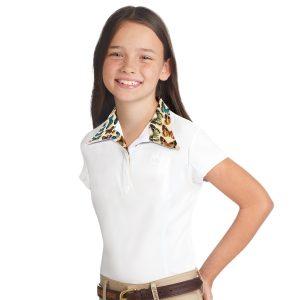 Romfh® Sarah Child's Show Shirt- Short Sleeve